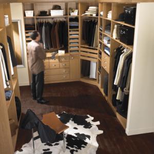 amenagement dressing choisir le dressing en kit. Black Bedroom Furniture Sets. Home Design Ideas